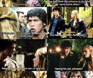 the 100, clarke, and bellamy image