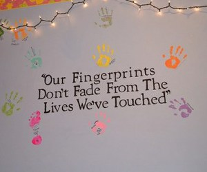 life, quote, and fingerprint image