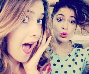 violetta, martina stoessel, and angie image