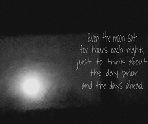 moon, quote, and mademyself image