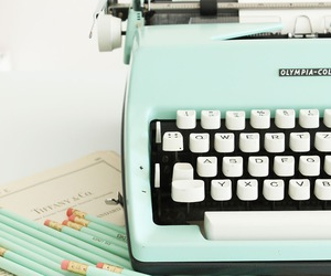 vintage and typewriter image