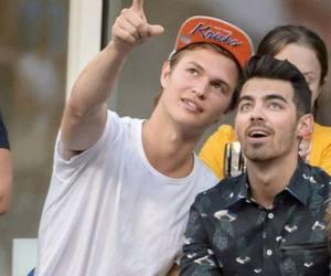 Joe Jonas and ansel elgort image