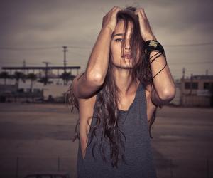 beautiful, brunette, and kate harrison image