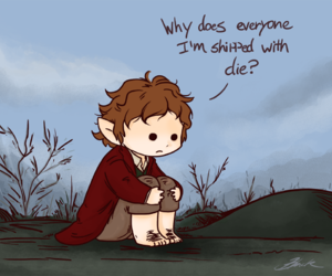 funny, tolkien, and bag end image