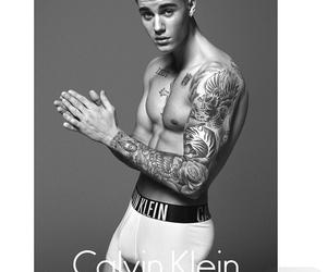 justin bieber, Calvin Klein, and Hot image