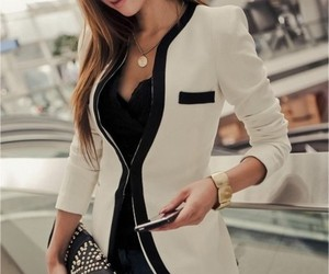 fashion, style, and blazer image