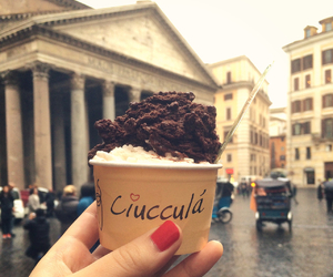 gelato, ice cream, and italy image