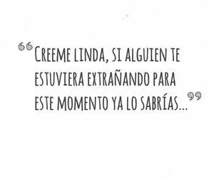 love, frases, and linda image