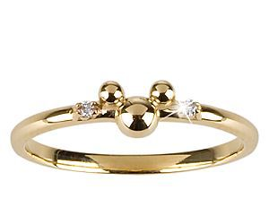 mickey mouse and gold and diamond image