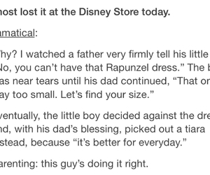 disney, parenting done right, and text image