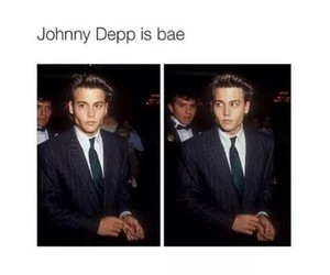 johnny depp, bae, and handsome image