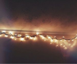 hipster, indie, and lights image