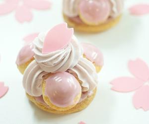 kawaii, pastel pink, and japanese treats image