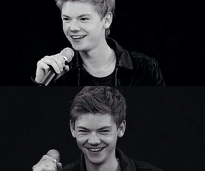 newt, thomas brodie sangster, and bae for life image