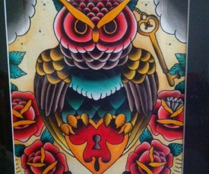 owl tattoo, ink it up, and mike payne image