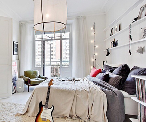 beautiful, bed, and house image