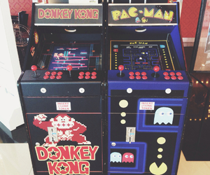 fun, pacman, and vintage image