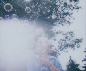 bubbles, grunge, and vintage image