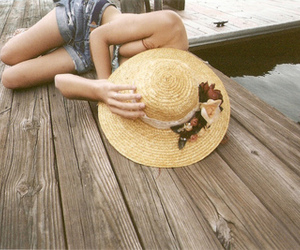 hat', lluly, and girl' image