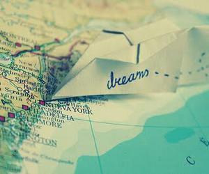dreams, inspiring, and map image