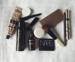 black, cosmetics, and inspo image