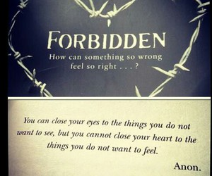 forbidden and book. image