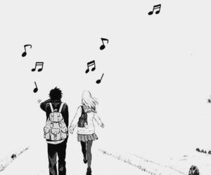 music, manga, and anime image