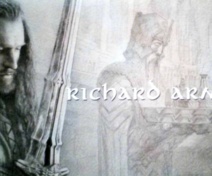 richard armitage, the hobbit, and end credits image