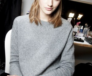 fashion, model, and sweater image