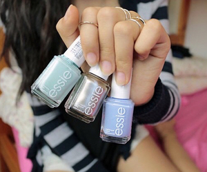 nails, tumblr, and essie image