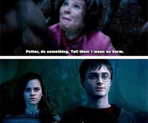 harry potter, hermione granger, and umbridge image