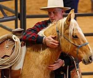 buck, true, and horsemanship image