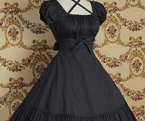lolita, pretty, and dress image