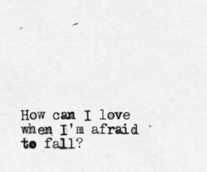 love, fall, and Lyrics image