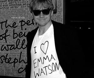 emma watson, rupert grint, and love image