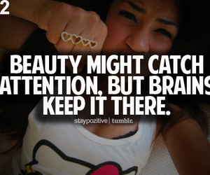 beauty, typography, and brains image