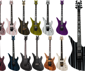 a7x, guitar, and synyster gates image