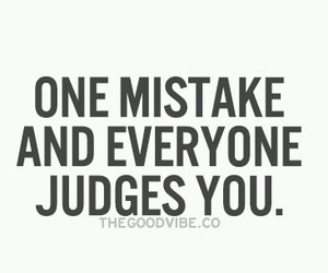 mistake, one, and be judge image