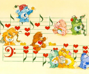 care bear, care bears, and pastel image