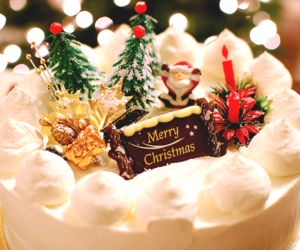 cake, christmas, and family image