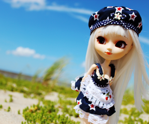 beach, doll, and pullips image