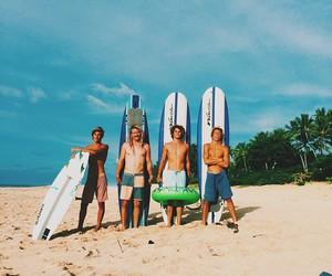beach, boys, and summer image