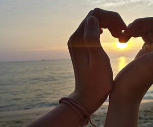 beach, love, and nash grier image