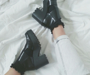 fashion, pale, and boots image