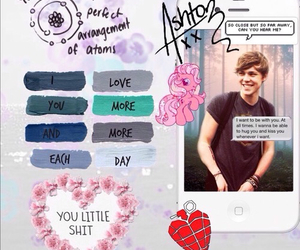 ash, please?, and 5sos image