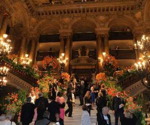 chic, event, and flowers image