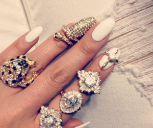 amazing, rings, and white image