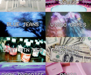 lana del rey, born to die, and blue jeans image