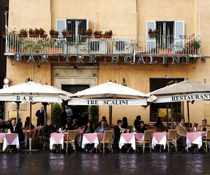 bar, cafe, and italy image