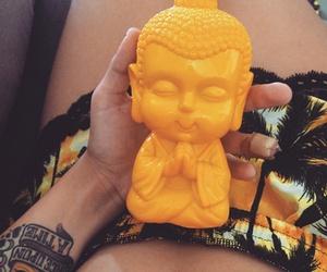 beach, tattoo, and budha image